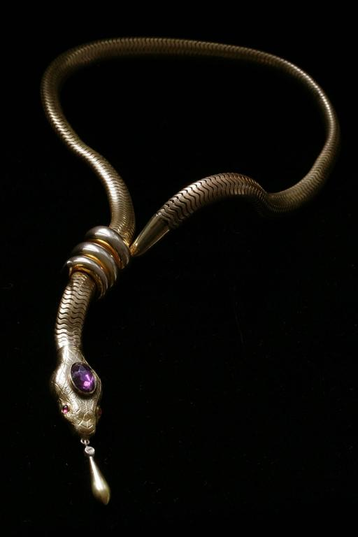 Victorian Flexible Serpent Necklace 2