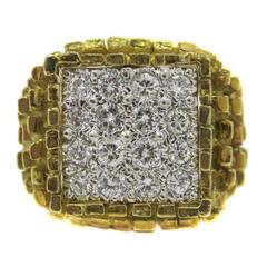 Hammerman Brothers Diamond Gold Ring
