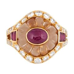 1960's Boucheron Elegant Fantasy Ring