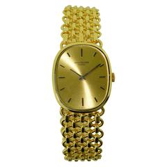 Patek Philippe & Co. Yellow Gold Ellipse Bracelet Watch