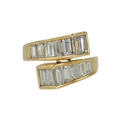 Baguette Diamond Ring by Kurt Wayne