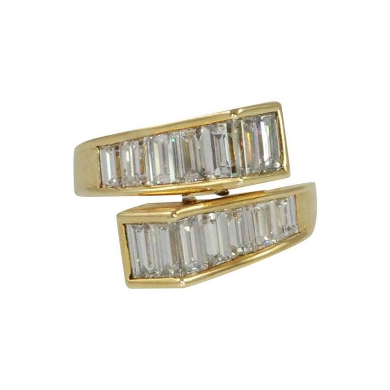 Baguette Diamond Ring by Kurt Wayne