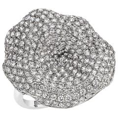 One Of A Kind Diamond Cocktail Ring