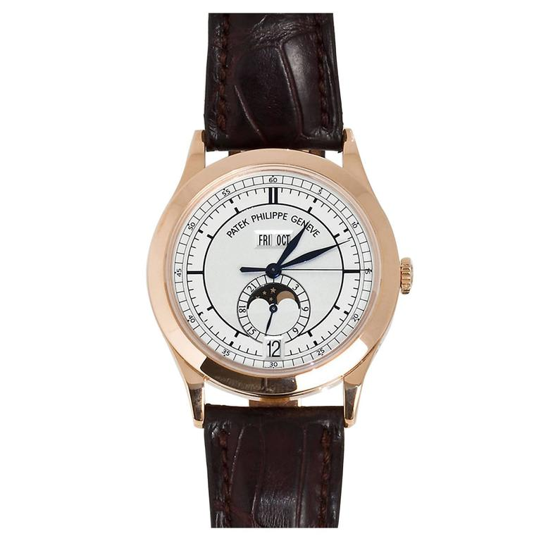 Patek Philippe Rose Gold Annual Calendar Automatic Wristwatch Ref 5396R-001