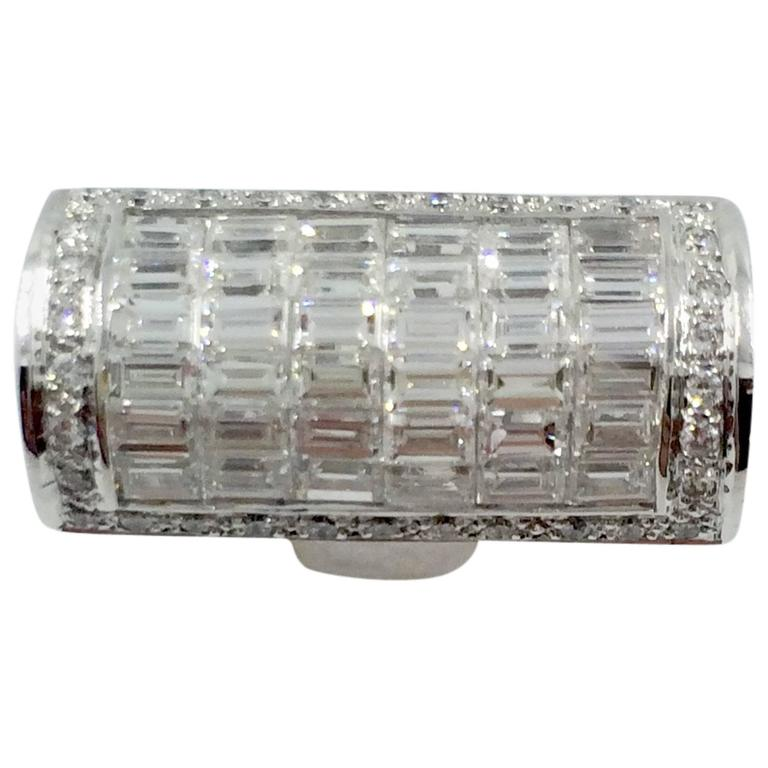 Diamond Cocktail Gold Ring