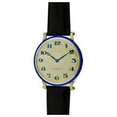 Vacheron & Constantin J. E. Caldwell Platinum Oversized Wrist Watch