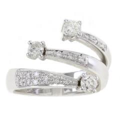 Diamonds Three Diamonds Gold Ring