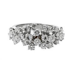 Fred of Paris Diamond White Gold Ring
