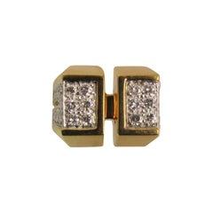 Montreaux Diamond Yellow Gold Platinum Ring