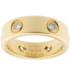 Cartier diamond Gold Love Ring