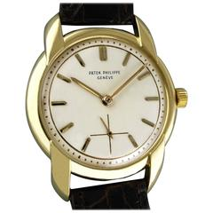 Patek Philippe Yellow Gold Wristwatch, 1955