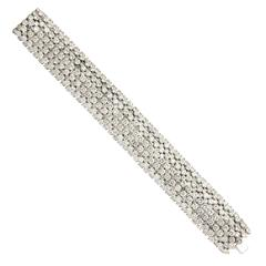 Important Van Cleef & Arpels Diamond Bracelet