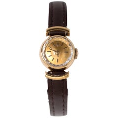 Rolex Yellow Gold Manual Wind Wristwatch, 1930s