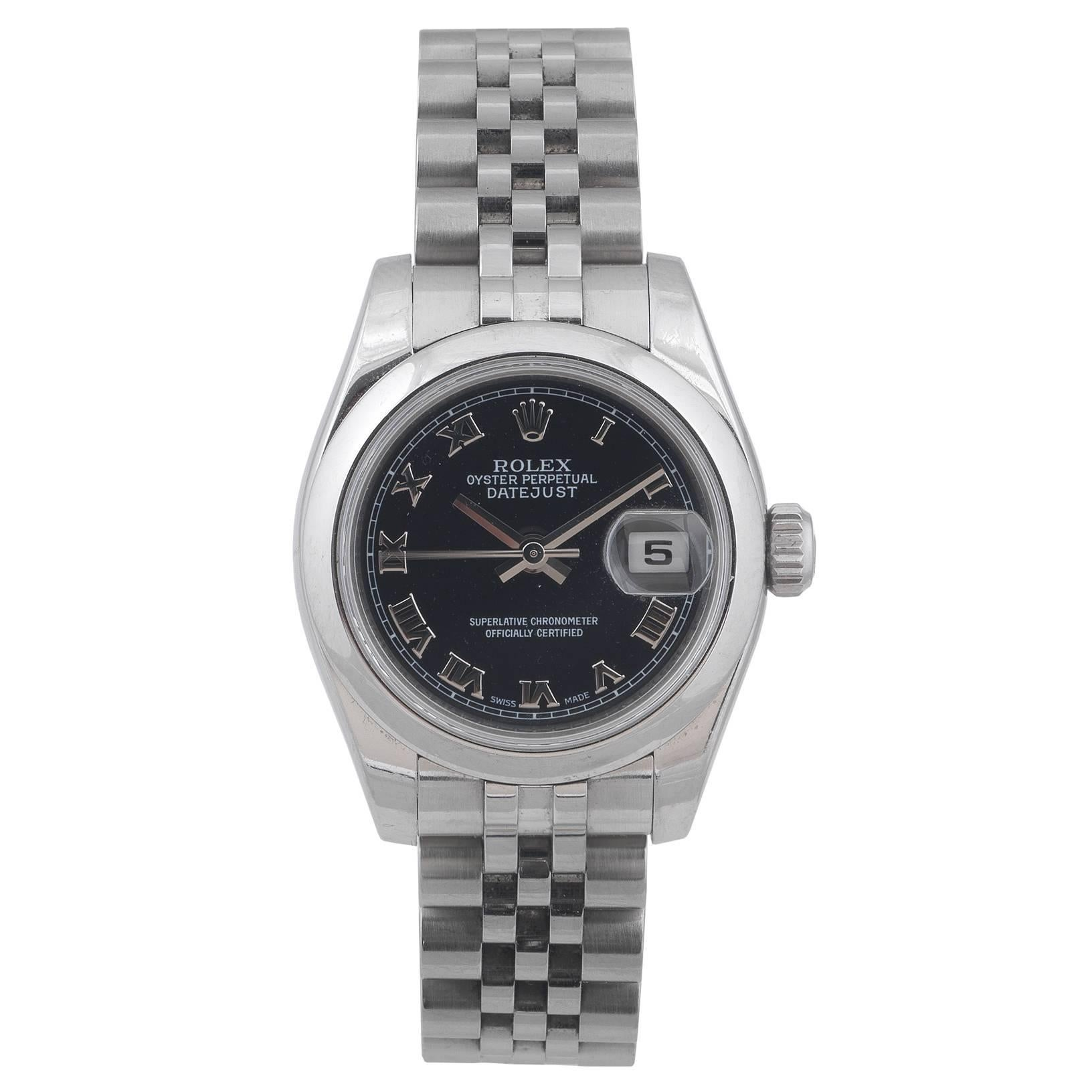 Rolex Ladies stainless steel Datejust Ref. 179160 Automatic Wristwatch, 2006
