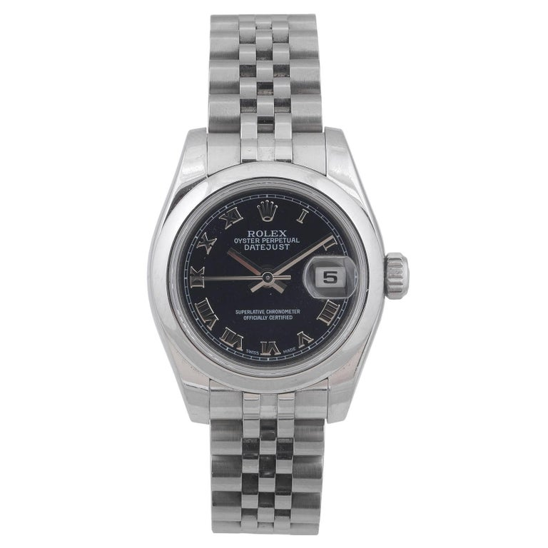 Rolex Ladies stainless steel Datejust Chronometer Automatic Wristwatch, 2006