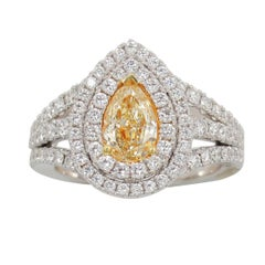 Frederic Sage Yellow Diamond Ring