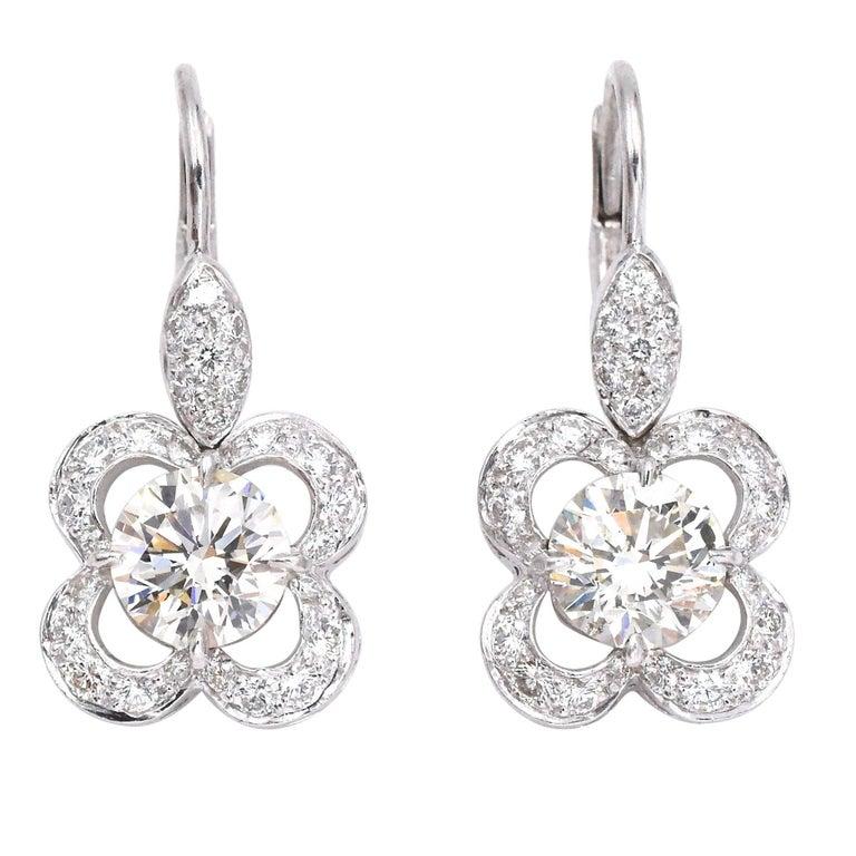 Impressive Diamond Earrings