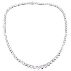 Sophia D. Platinum Mounting Diamond Necklace