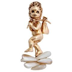 Ruser Large Thursday's Child Brooch Pin