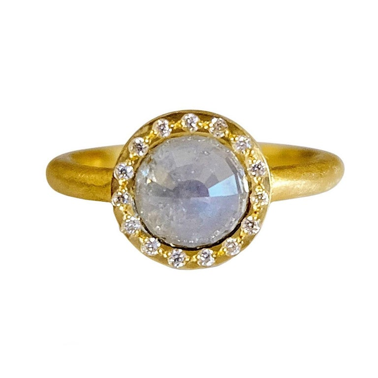 Luca Jouel Tamboli Diamond Gold Ring For Sale