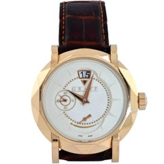 Graff Rose Gold GraffStar Grand Date Manual Wristwatch