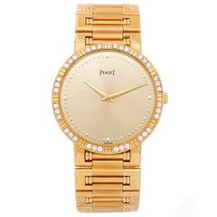 Piaget Yellow Gold Dancer Quartz Wristwatch