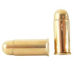 1960's Gold Bullet Modernist Cufflinks