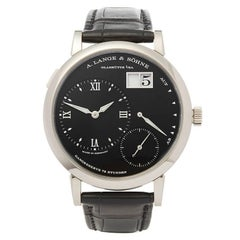 A. Lange & Sohne Grand Lange One 18 Karat White Gold Gent 117.028