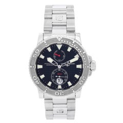Ulysse Nardin Stainless Steel Maxi Marine Automatic Wristwatch