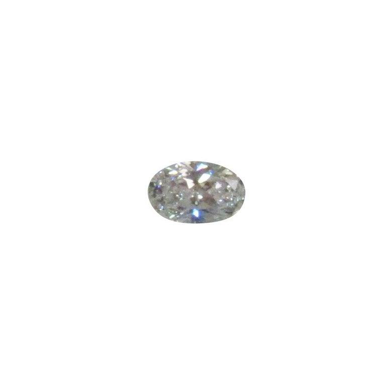 GIA Certified 1.21 Carat Oval Diamond, D Color, VVS2 Clarity For Sale