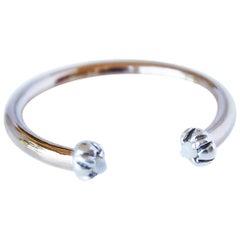 Love Ring Opals Silver Bronze Adjustable J Dauphin In Stock