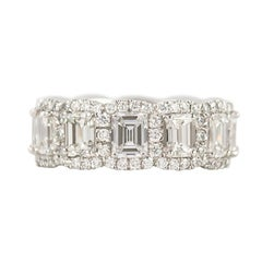 J. Birnbach Halo Style Eternity Band