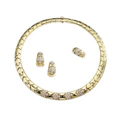 Bulgari Diamond Gold Set