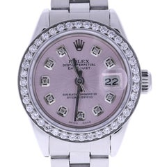 Certified Rolex Datejust 69160 Pink Dial