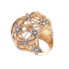 H. Stern Copernicus Diamond Noble 18 Karat Gold Ring