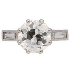Rene Boivin Diamond Engagement Ring, circa 1930