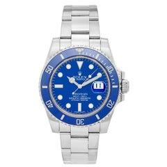 Rolex Submariner White Gold Men's Watch 116619-LB