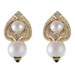Marina B. Loreto 1988 Pearls Diamonds Yellow Gold