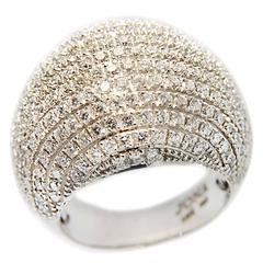 Jona Diamond Pave Gold Dome Ring