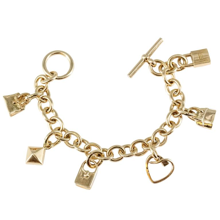 Italian charm bracelet charms for sale