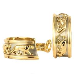 CARTIER Panthere Panther Gold Earclip
