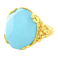 "Alchemy Collection ""Victoria Blue"" Ring"