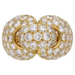 Boucheron Diamond and Yellow Gold Dress Ring
