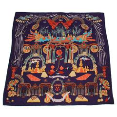 Dior Fairytale LARGE Silk ART Scarf