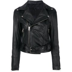 "Customised ""Chinese Superhero's"" Vintage Leather Jacket"