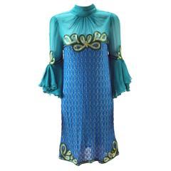 1960s Missoni Dress and Coat Ensemble
