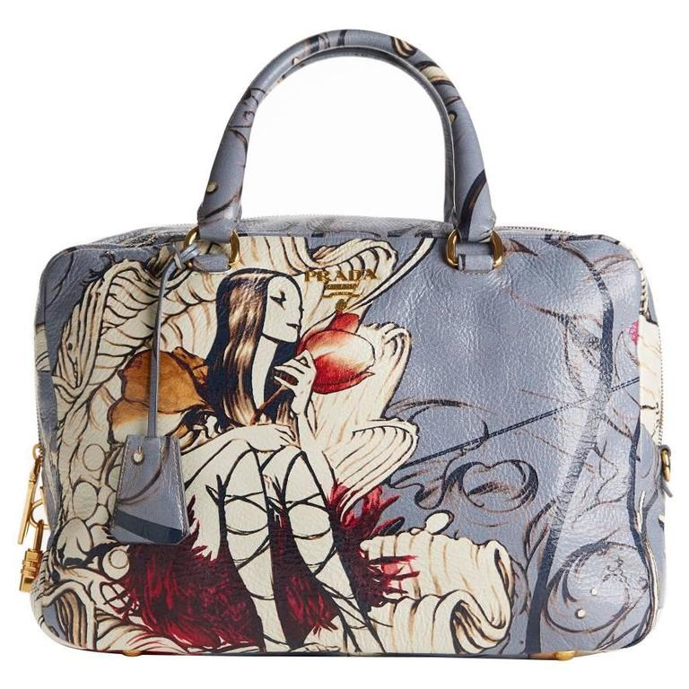 2008 Prada Limited Edition James Jean Fairy Bag at 1stdibs e2b482ee7a4fd