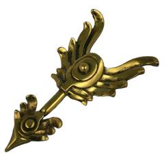 "Art Deco Reinad USA ""Chanel"" Arrow Brooch"