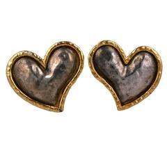 Massive Heart Earrings, Edouard Rambaud