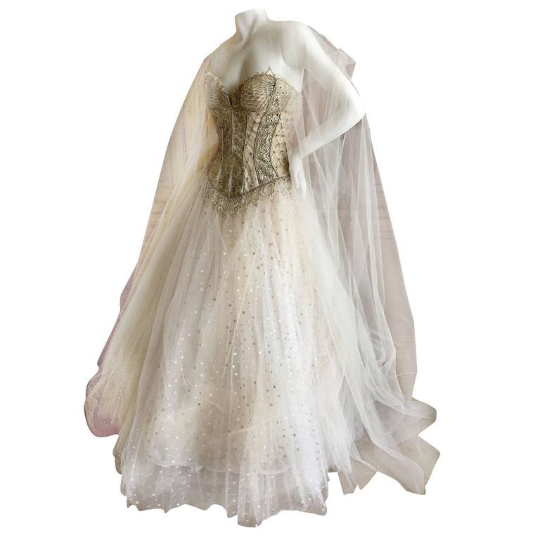Bob Mackie One of a Kind Ballerina (Wedding) Dress 1
